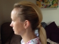 mohican ponytail